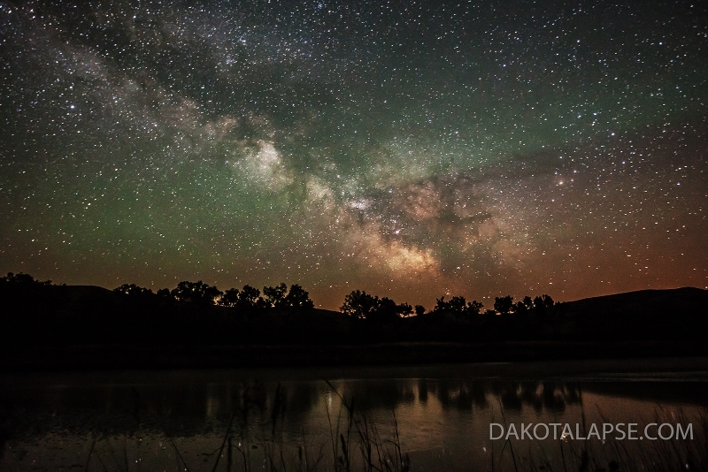 White River Milky Way rise