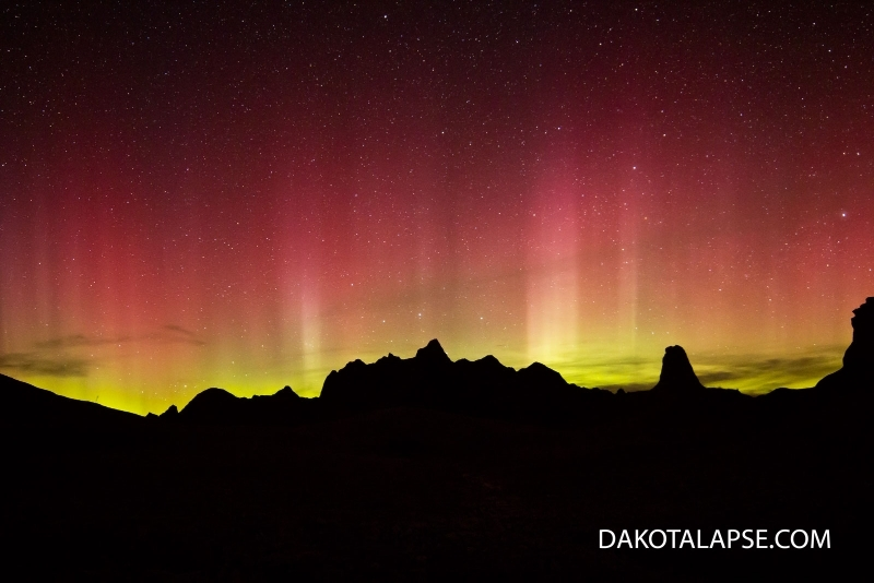 Badlands Aurora