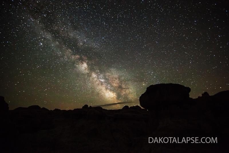 Badlands Milky Way