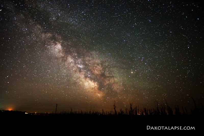 South Dakota Milky Way
