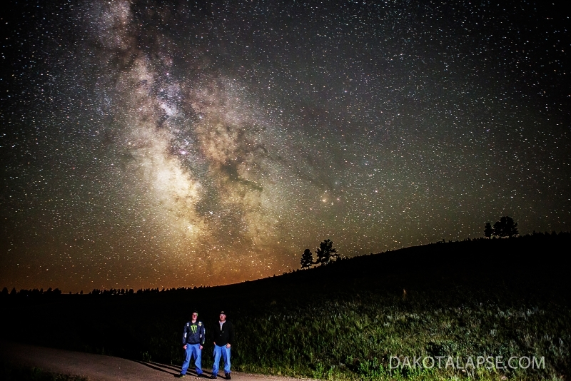 Custer State Park Milky Way