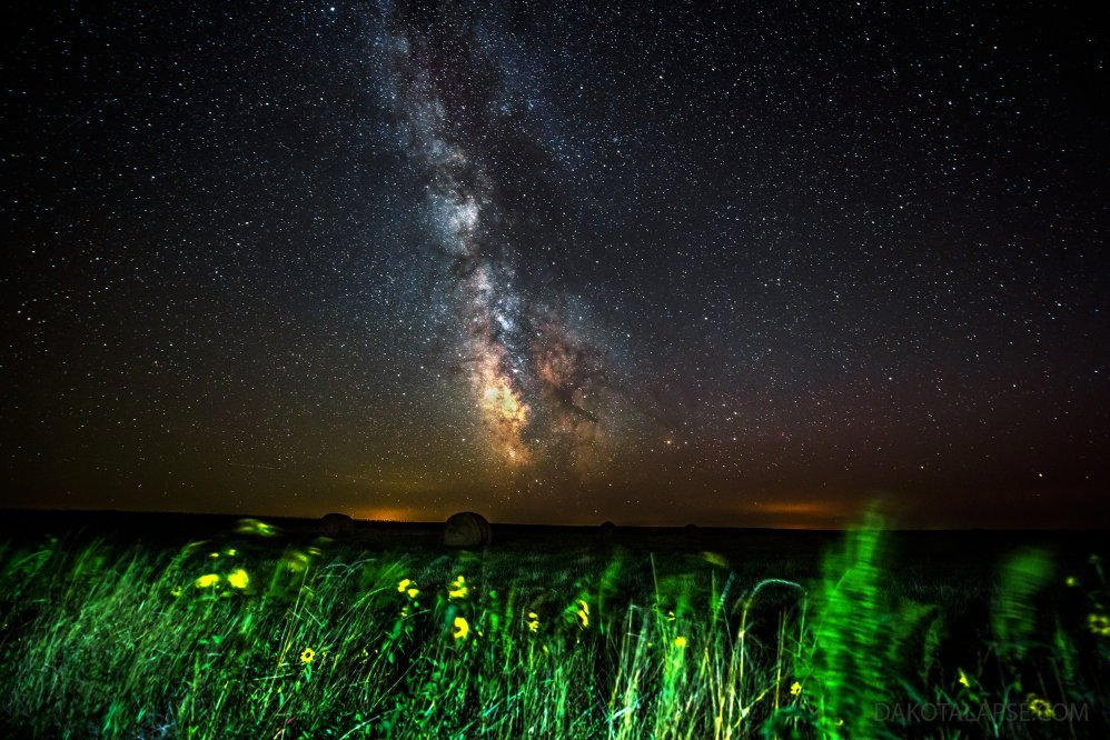 Bales and Milky Way