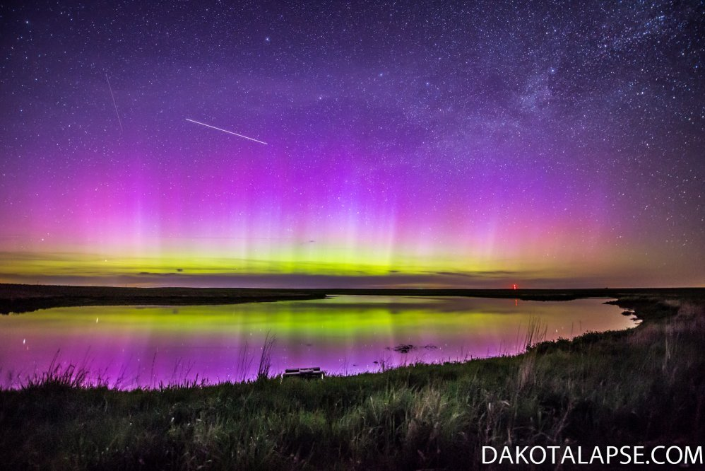 South Dakota June Aurora