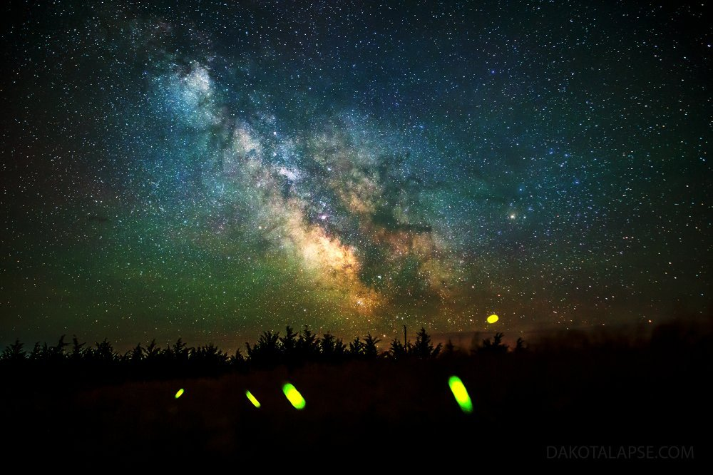 Milky Way and Fireflies