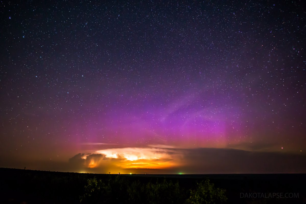 June Storm and Aurora
