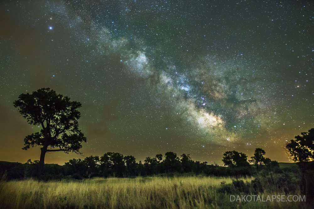 June Milky Way