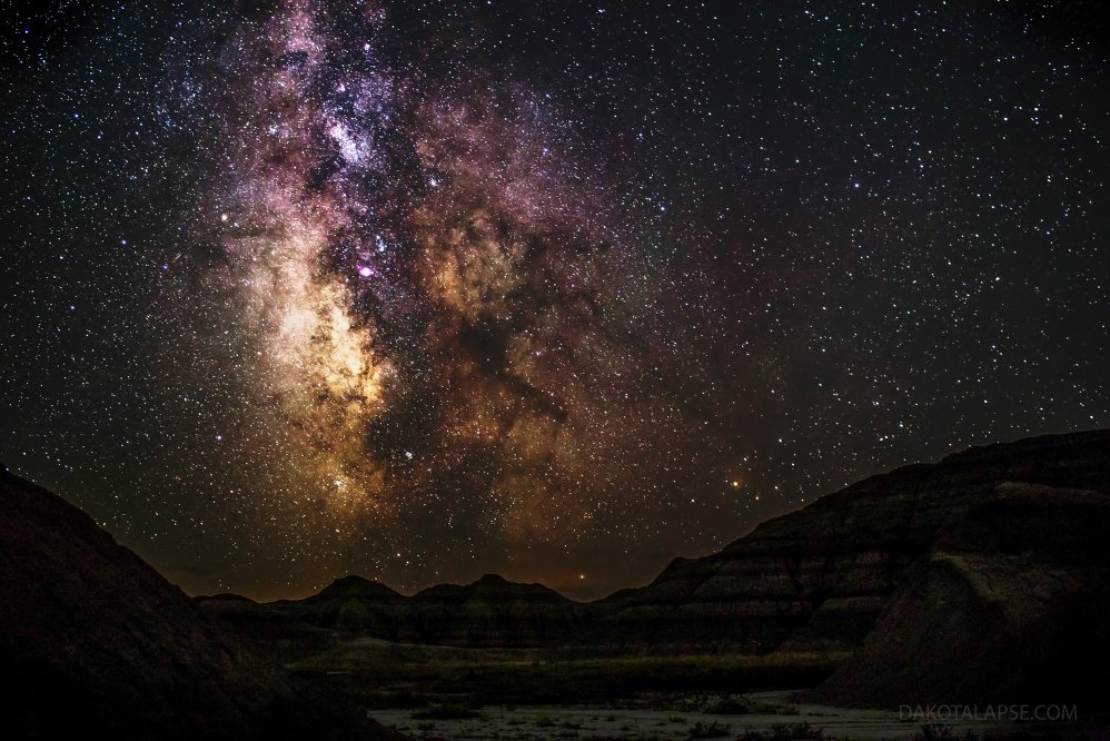Badlands Milky Way 1