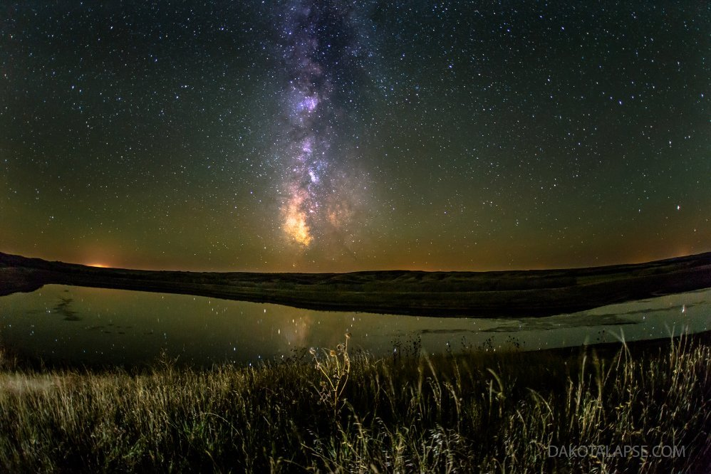 Milky Way and Lake