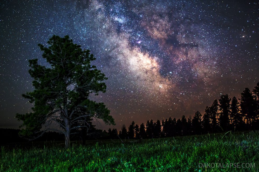 Milky Way from Custer State Park