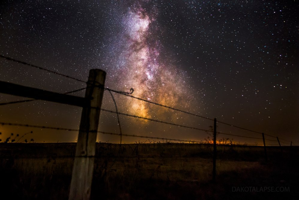 Fence Milky Way