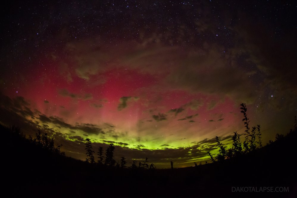 October Fisheye Aurora