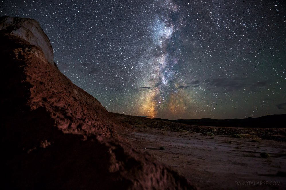 Wyoming Red Desert Milky Way