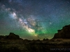 June Badlands Milky Way