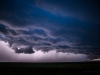 Shelf Cloud at Night