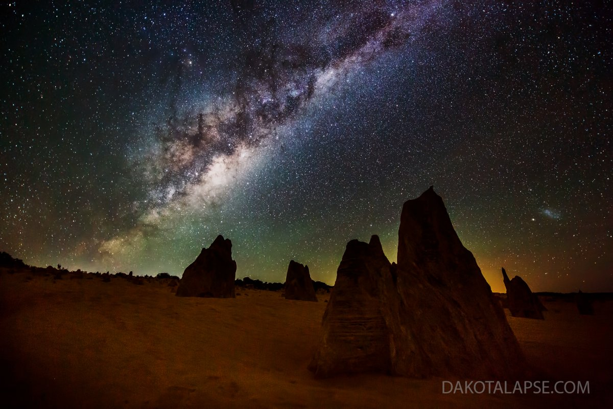 Western Australia Pinnacles