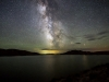Milky Way over Pathfinder Reservoir