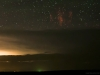 Sprites, Gravity Waves and Airglow - Cropped View