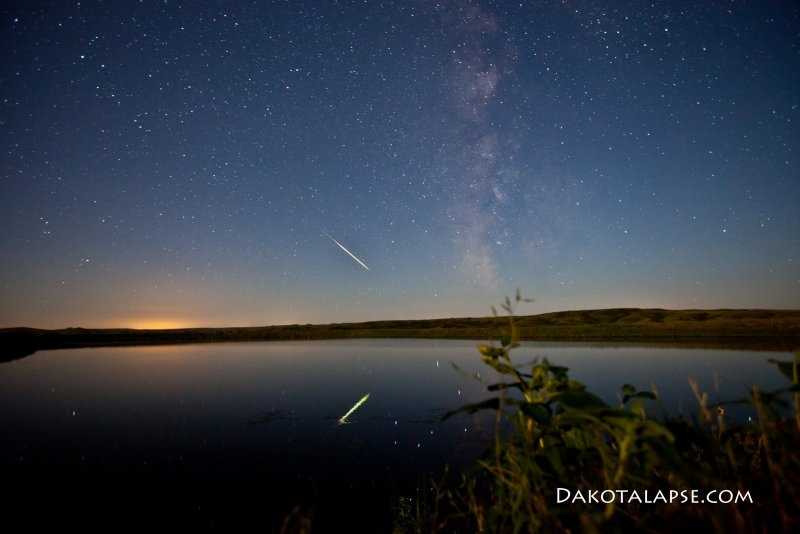 Meteor reflection