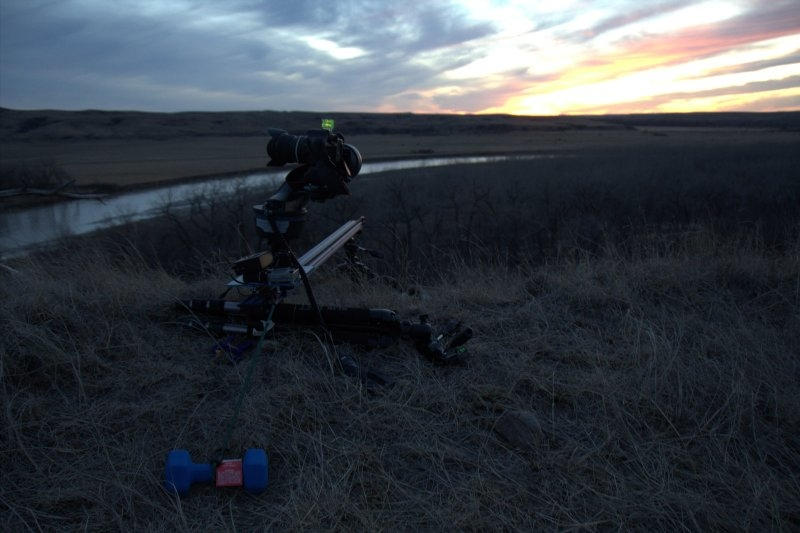 Stage Zero Dolly setup in South Dakota