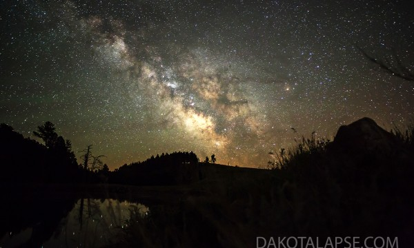 Late June Milky Way in Custer State Park of SD.