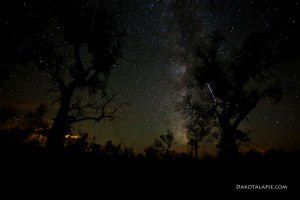 Second camera with ISS and Milky Way