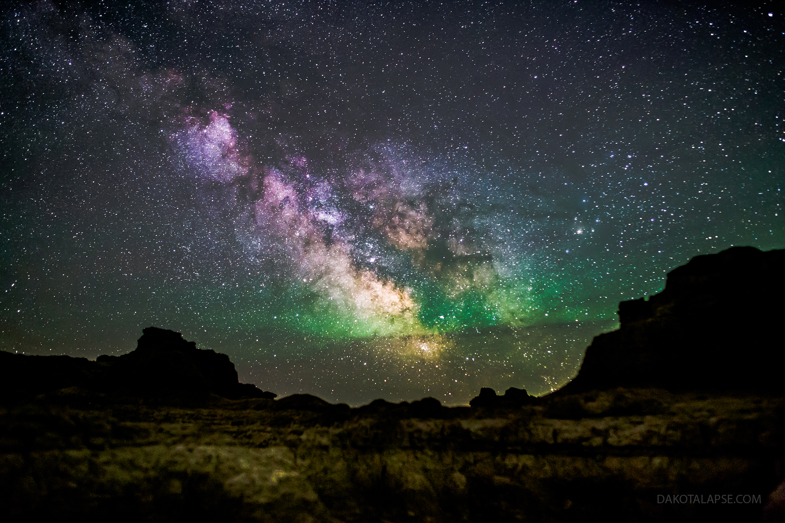 Badlands Night Sky Workshop