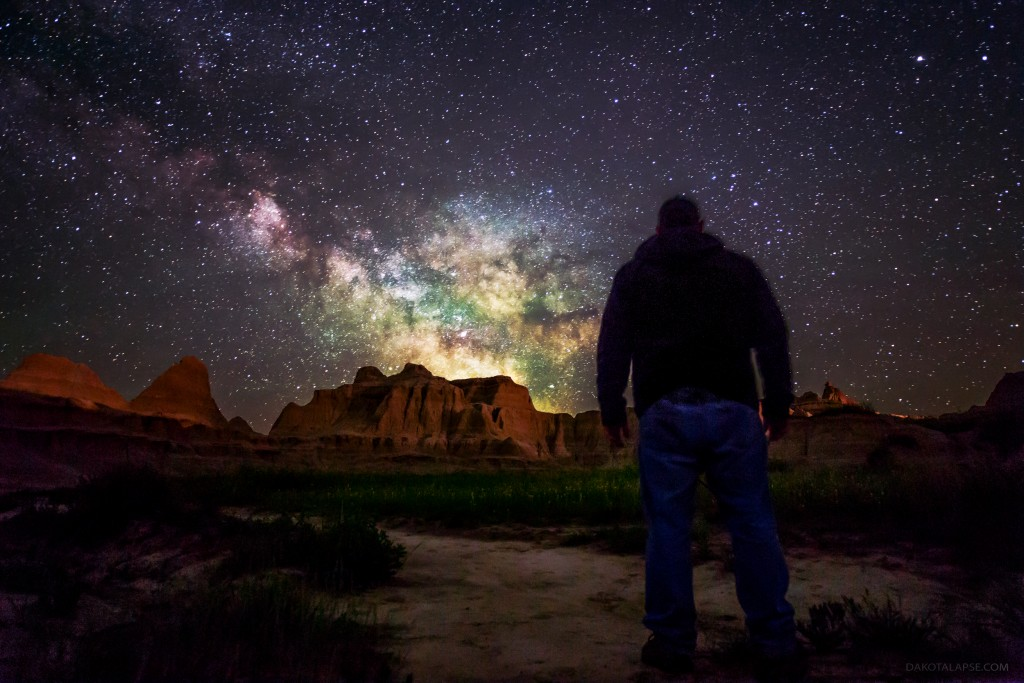 Dark skies workshop in Badlands National Park, South Dakota
