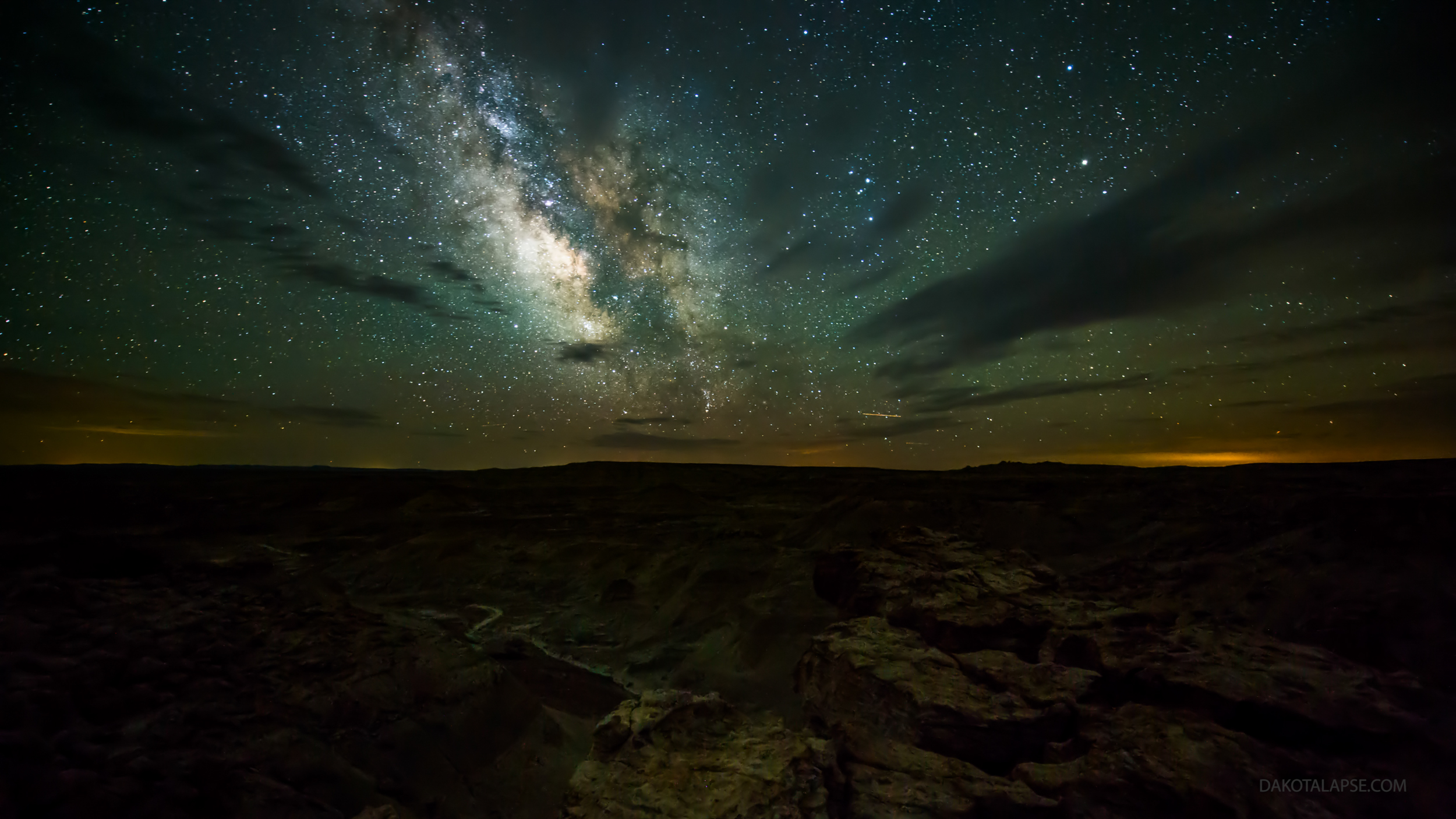 Wyoming Milky Way