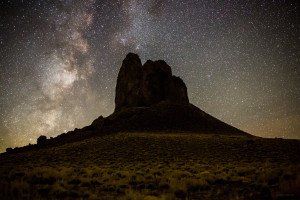 Boars Tusk, Wyoming timelapse